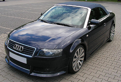 Audi A4 Aggressor Bodykit, Jap Style, Body kits, Front bumper, Side skirts, Mesh, Rear bumpers - UK