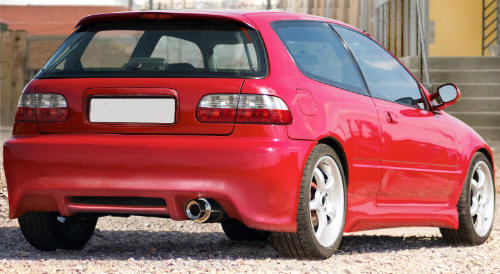 Honda Civic 1992-1995 Hatchback 'StyleX' Body Kit.