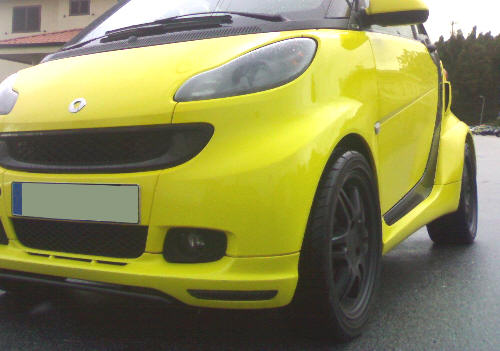 Smart Car For2 / ForTwo 451 Full 6pc Wide Arch Body Kit